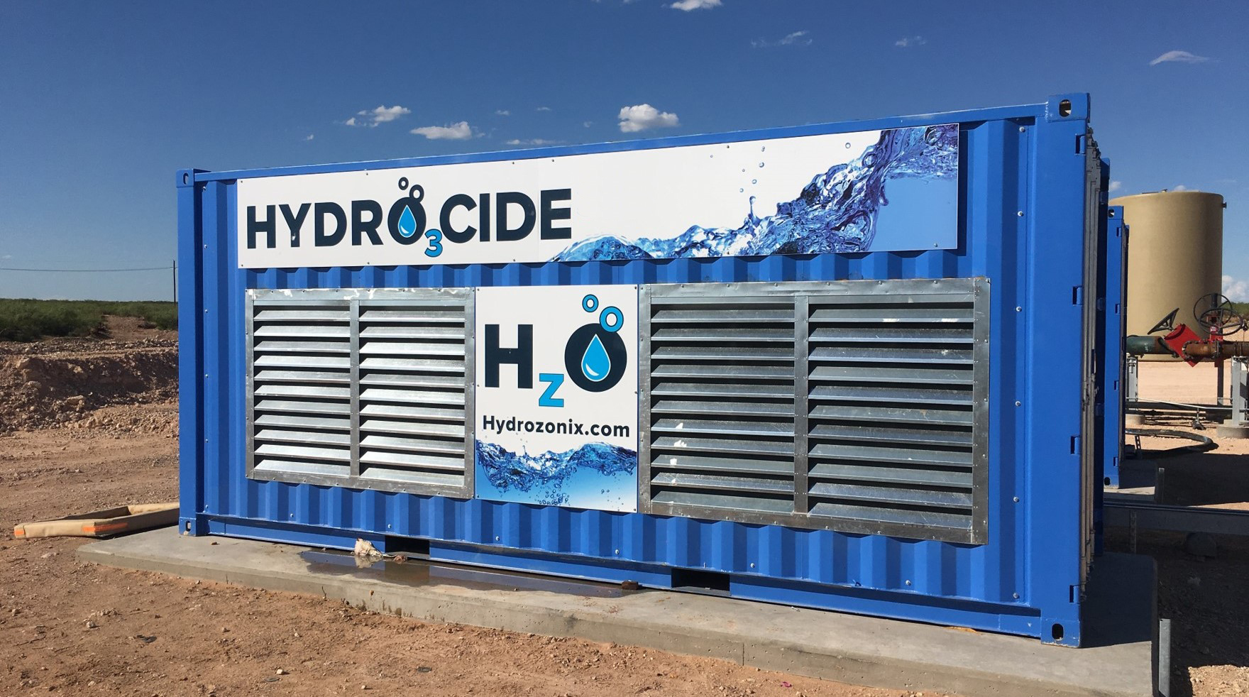 HYDRO3CIDE automated oxidation system